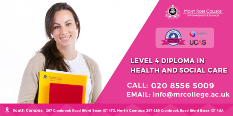 health and social care diploma level